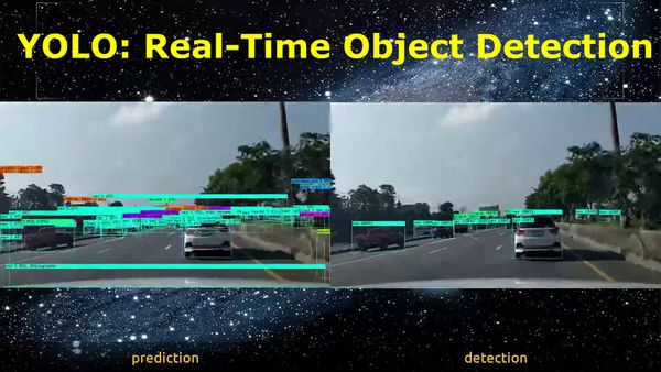Real-time object detection on Vehicle with YOLOv3
